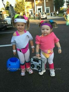 Cutest Workout Girls Couple Costume for Toddlers Cutest Workout Girls Couple Costume for Toddlers 3 The post Cutest Workout Girls Couple Costume for Toddlers appeared first on Halloween Costumes. Disfarces Halloween, Halloween Infantil, Sibling Halloween Costumes, Halloween Recipe, Women Halloween, Halloween Makeup, Halloween College, Halloween Projects, Kids 80s Costume