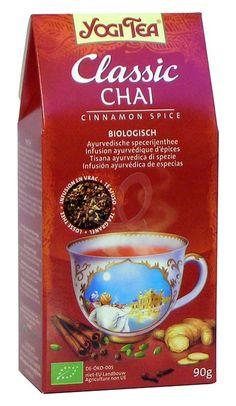 Miscela di spezie ayurvediche Classic Chai alla cannella Yogi Tea