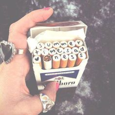 cigarette, summer, and lana del rey 圖片