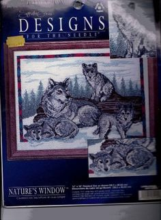 Design for the Needle Counted Cross Stitch KIT Wolf Family 	$18.01 only one left.   http://smile.amazon.com/dp/B00DX5B9OK/ref=cm_sw_r_pi_dp_grT7tb0CKQXFX