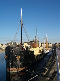 Steam ship Chatham marina [shared]