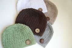 Newborn Hat Baby Hat Knit Hand Knit Baby Hat by BambinoStore