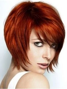 New Sexy Elegant Short Layered Cut Straight Wig about 10 Inches Makes You More Fascinating  Original Price: $150.00 Latest Price: $45.39