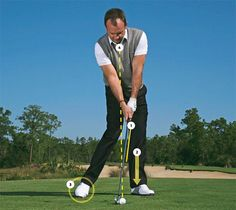 1-2-3-4 Drill: Simulate this four-point impact position. Then re-create that feeling on your real shots.