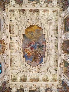 Caravaggio (Bergamo, Italy) - Ceiling of the sacristy of the Sanctuary of Caravaggio