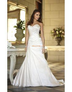 Balayage / pinceau train Printemps 2014 Brillant & Séduisant Robes de mariée 2014