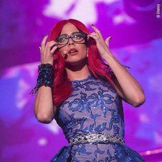 MAÑANA,MAÑANA,MAÑANA @TiniStoessel #ViolettaLiveChile ROXY