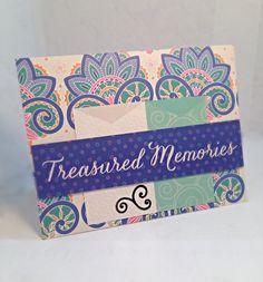 Treasured Memories by JBRCards on Etsy Handmade, great friendship card