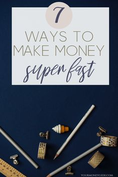 How to make money fast! Maybe you're faced with an unexpected home repair, or your car decided to call it quits and now you're in the need for some extra cash quick, fast and in hurry (like yesterday). Well, good news, I've got your back! Work From Home Jobs, Make Money From Home, Way To Make Money, Make Money Online, How To Make, Money Tips, Money Saving Tips, Managing Money, Extra Cash