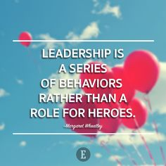 Very wise words. Do you have executive presence that say you're a leader?