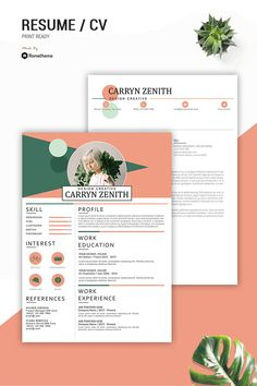 If you like this cv template. Check others on my CV template board :) Thanks for sharing! Simple Resume Template, Job Resume Template, Creative Resume Templates, Cv Template, Graphic Design Cv, Cv Design, Resume Design, Graphic Designer Resume, Booth Design
