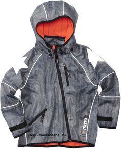 Molo Kids Cloudy Soft Shell-takki; Snow Denim (farkku)