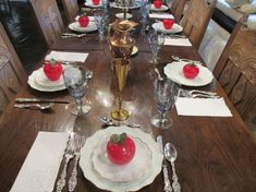 Rosh Hashanah Table Setting 2014 - Free Nice Pictures