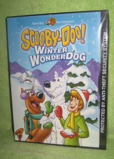 Scooby-Doo: Winter Wonderdog DVD NIP