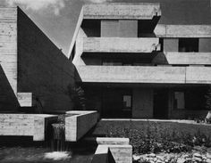 Home for the Elderly, Wangen, Germany, 1972(Wilfried Beck-Erlang)