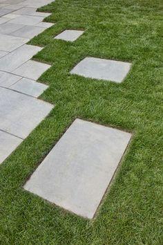 patio transition to lawn #Matthew Cunningham Landscape Design LLC