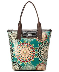 Fossil Handbag, Key-Per Canvas Tote - Handbags & Accessories - Macy's Love love love
