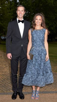 Pippa Middleton will marry hedge fund millionaire James Matthews later this month at St Mark's Church in Englefield, Berkshire, close to the Middleton family home Style Pippa Middleton, Pippa Middleton Wedding, Middleton Family, Pippa And James, Kate And Pippa, Pippas Wedding, James Matthews, Style Royal, Brocade Dresses
