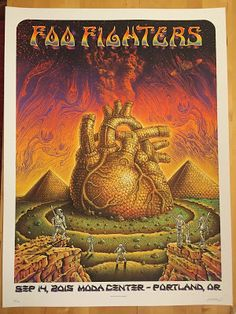 Emek-Foo-Fighters-Poster-Portland-2015