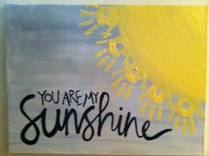 You Are My Sunshine - Mothers Day Gifts from Kids Diy Mothers Day Gifts, Mothers Day Presents, Grandparent Gifts, Baby Crafts, Toddler Crafts, Memory Crafts, Diy For Kids, Crafts For Kids, Family Crafts