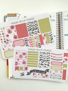 This set includes 71 assorted stickers. This listing is for a 2 sheet sticker kit.  *All stickers are printed on matte sticker paper and kiss cut