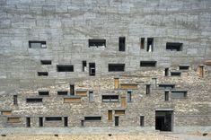 Ningbo Museum of History, Zhejiang, China, built: 2009, architect: Wang Shu,