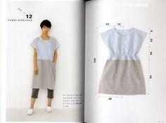 Straight di Yoshiko Tsukiori Stitch grembiule e di pomadour24