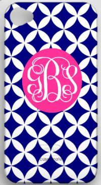 I normally don't do the whole monogram thing, but I LOVE this. The colors are so cute!