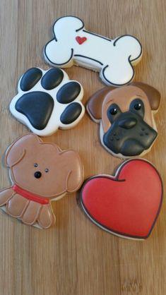 Dog cookie set (sweet sugarbelle, Jill FCS, Bearfoot baker)