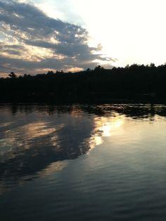 Evening Fishing on Deerskin Lake, Eagle River Wisconsin 2011