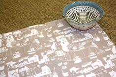 Janet Bell tea towel