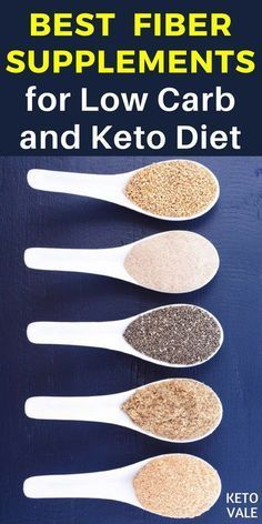 Best Fiber Pills and Powder Supplements for Low Carb and Keto Diet