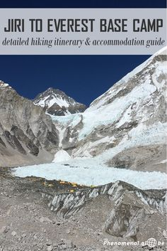 Detailed itinerary & accommodation info to help you plan your hike from Jiri To Everest Base Camp. hiking times, lodges along the trek + tips&tricks! Travel in Asia. Travel Guides, Travel Tips, Travel Destinations, Travel Advice, Everest Base Camp Trek, Hiking Tips, Camping Tips, Best Hikes, Asia Travel