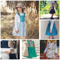 Macy Pinafore PDF suspender skirt pdf Easter PDFpinny
