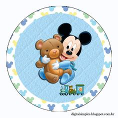 Kit Imprimible GRATIS Mickey Baby