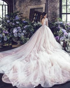 Lost in all the tulle flowing from this gorgeous wedding dress by Kates Official  bridal fashion