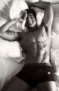Wouldn't it be just amazing waking up next to this sexy beast?