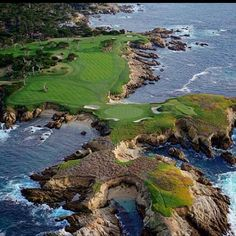 another great Cypress Point Photo.  They have actually added bunkers around the trees in the 17th Fairway. old photo