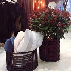 AYTM Motus baskets and Sanati velvet cushions  #aytm • Instagram  Photo: eight_holte