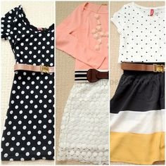 Great packing inspiration with plenty of skirts & dresses