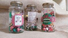 Upcycled pasta jars