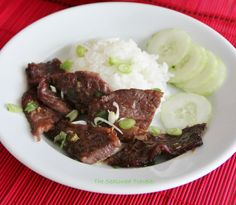 This BBQ Short Ribs The Seasoned Traveler is a best for your dinner made with wholesome ingredients! Korean Bbq Ribs, Ribs Seasoning, Bbq Short Ribs, Sweet And Salty, Korean Food, Beef Recipes, Dinner Recipes, Yummy Food, Delicious Recipes
