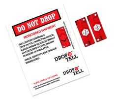 Drop N Tell are ideal for use as export packaging and suitable for most commercial freight as they tend to be very reliable over long journeys.