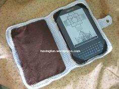 crochet laptop case - Google Search