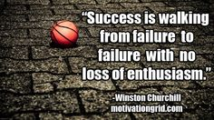 Motivational Quote Image - Winston Churchill - http://motivationgrid.com/why-am-i-not-successful