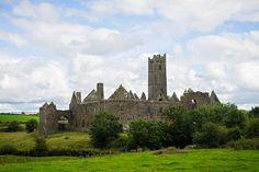 Quinn Abbey, Quinn, County Clare, Ireland