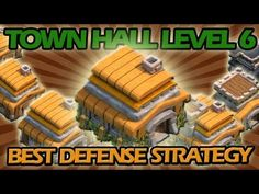 nice BEST Town Hall Level 6 Defense Strategy for Clash of Clans + Awesome Raiding Strategy! Extremely effective / best defense setup / base for town hall level 6 in clash of clans!! Th
