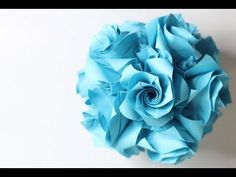 HD) Origami Ball/ Kusudama Versailles (Krystyna Burczyk) by Tadashi Mori