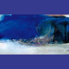 《07.06.85》1985年, 油彩・カンヴァス, 114.8×195.2cm 追悼 ザオ・ウーキー