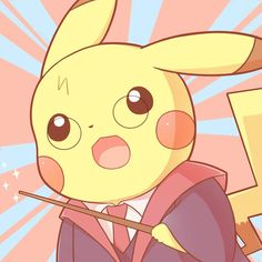 Pokemon Harry Pikachu G Pokemon Eeveelutions, My Pokemon, Cool Pokemon, Pokemon Fusion, Pokemon Cards, Pikachu Pikachu, Chibi Kawaii, Kawaii Anime, Pokemon Red Blue